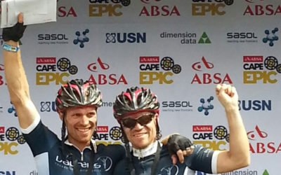 Laureus selected as an official charity partner of the Absa Cape Epic for the next 3 years