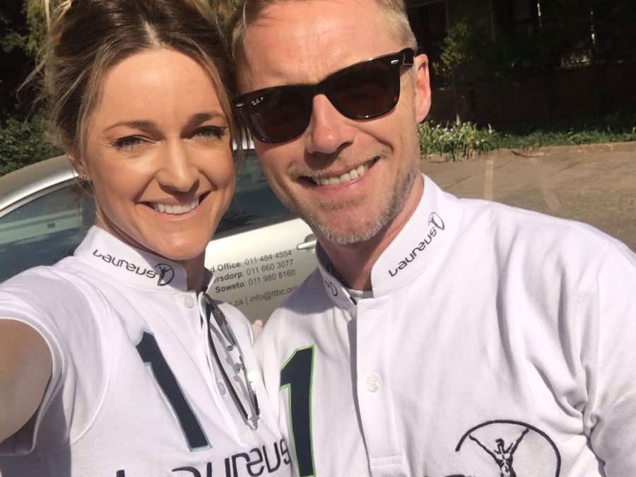 Global music icon Ronan Keating visits Fight With Insight