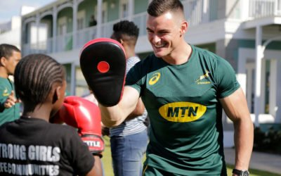 Laureus & Springbok Activation
