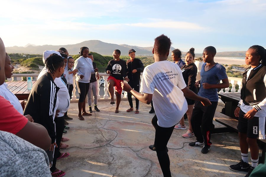 Inspiring, Brave, Powerful! New crop of energetic young leaders recruited for the Laureus 'Youth Empowerment through Sport' programme