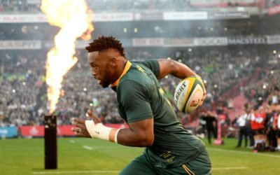 "#PowerOfSport: ""I must just be working. If I'm standing still or lying on the floor then I am not inspiring anyone"" – Siya Kolisi"