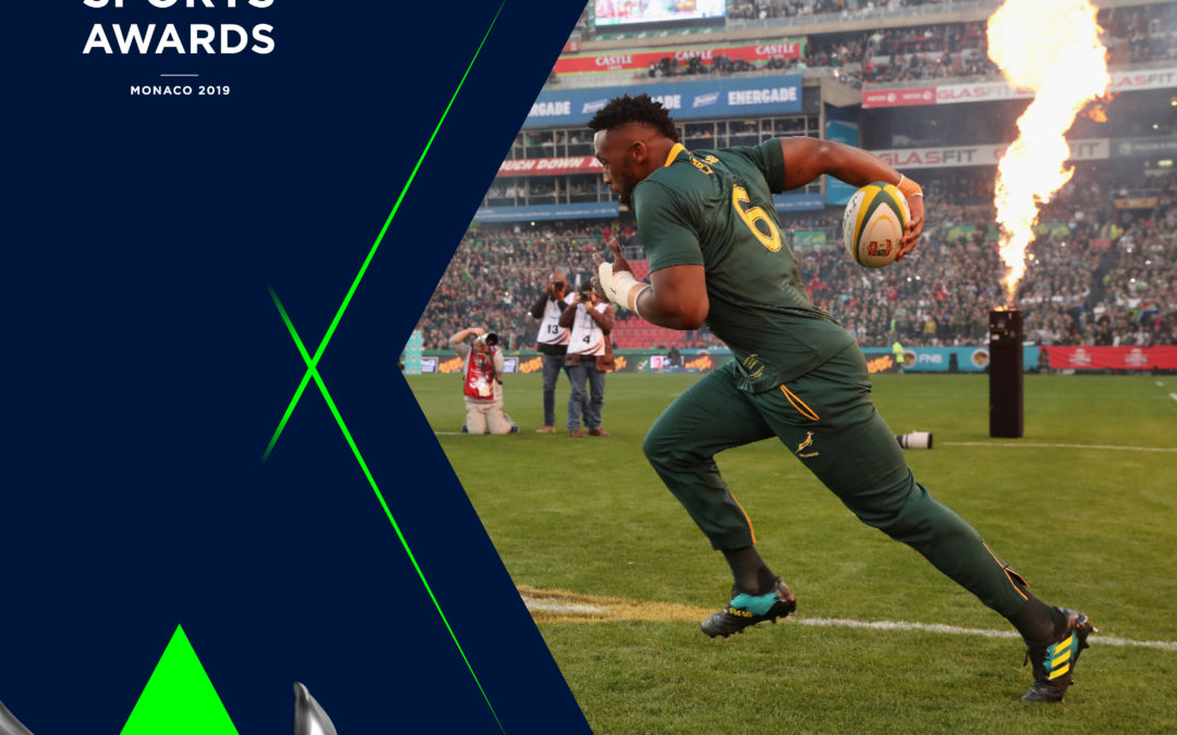 Siya Kolisi – Contender for the Laureus Sporting Moment of the Year 2018