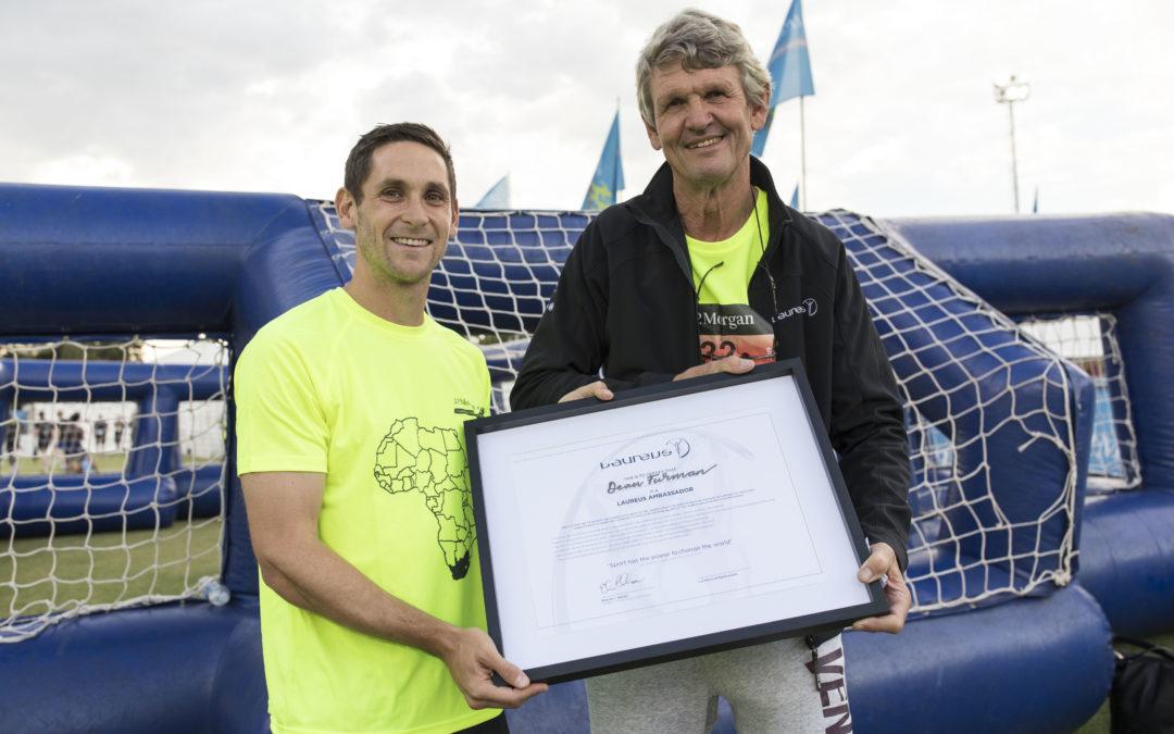 #PowerOfSport:Celebrating Laureus South Africa's newest Ambassador: Dean Furman