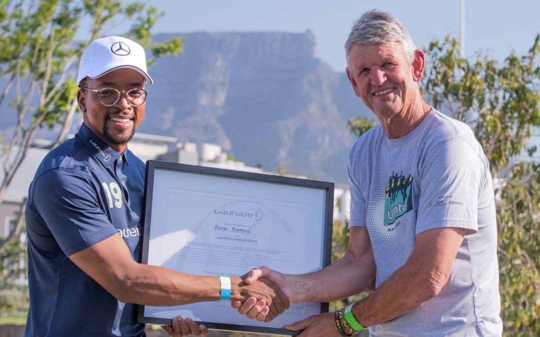Laureus Sport for Good hosts Ubuntu themed Summit at Southern Sun Cape Sun and announces new Ambassador – Maps Maponyane